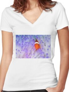 Hideaway Women's Fitted V-Neck T-Shirt