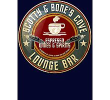 SCOTTY AND BONE'S COVE VINTAGE SIGN Photographic Print