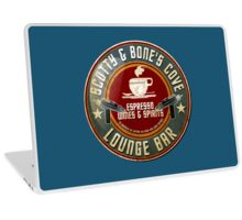 SCOTTY AND BONE'S COVE VINTAGE SIGN Laptop Skin