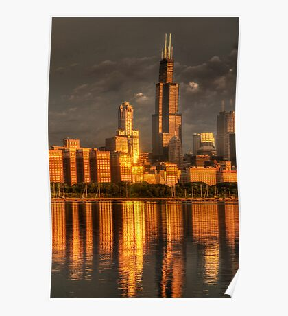 Chicago Sears Tower Poster