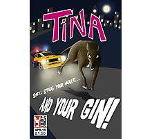 Tina On the Run Photographic Print