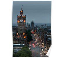 Princes Street Edinburgh Poster