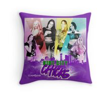 Riot City Chicks Adelaide South Australia Throw Pillow