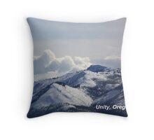 Unity, Oregon - Monument Rock Wilderness Throw Pillow