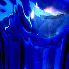 Cobalt Blue Vase Abstract by Dana Roper