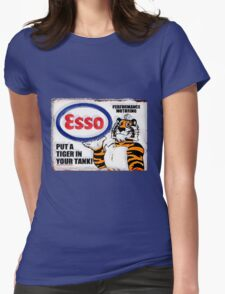 Esso - Put a Tiger in Your Tank! Womens Fitted T-Shirt