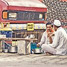 Waari - On a tea break by Prasad