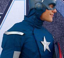 Captain America by nadiasneverland