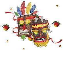 Dramatic Crash Masks by EdgarAllanPurr