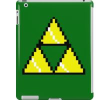 8 Bit Triforce pixel iPad Case/Skin