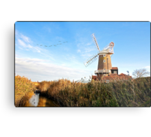 Cley Windmill Norfolk Metal Print
