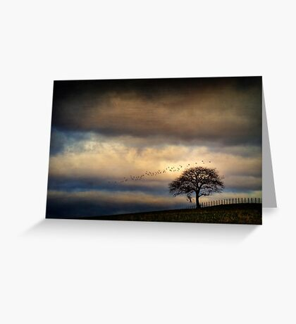 Texture Landscape Greeting Card