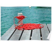Red Rope, Blue Sea Poster