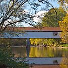 Potters Covered Bridge by Rick Montgomery