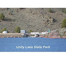 Unity Dam Photographic Print