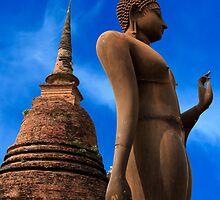 Buddha Statue by Adrian Evans