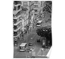 Malaga street Poster