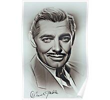 Clark Gable Poster
