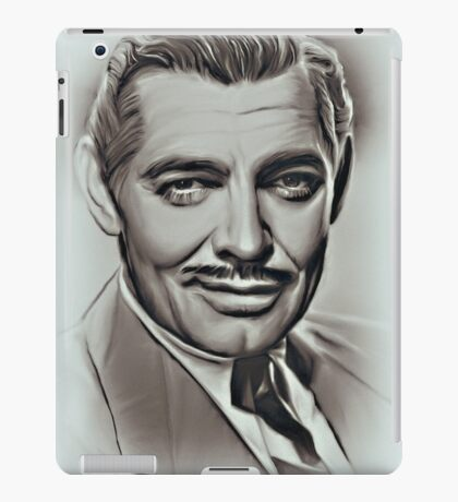 Clark Gable iPad Case/Skin