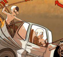 Mad Max Fury Road - Nux Car Sticker