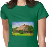 Museum of the Polish countryside-Bialystok Womens Fitted T-Shirt