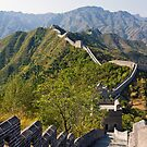Great Wall at Taipingzhai by Karen Millard