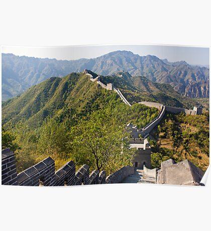 Great Wall at Taipingzhai Poster