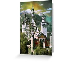 Schloss(Castle) Neuschwanstein Greeting Card