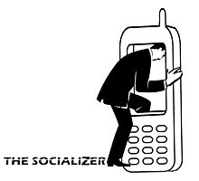 THE SOCIALIZER Photographic Print