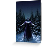 Cold Blood Greeting Card