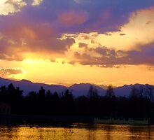 Purple Mountains by Thomas Stevens