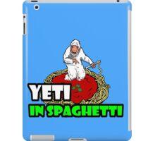 YETI IN SPAGHETTI iPad Case/Skin