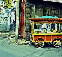 Turkish sandwich cart by Tim Constable