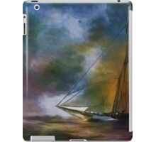 The meeting in the moonlight. iPad Case/Skin
