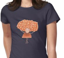 She had Fabulous Orange Hair Womens Fitted T-Shirt