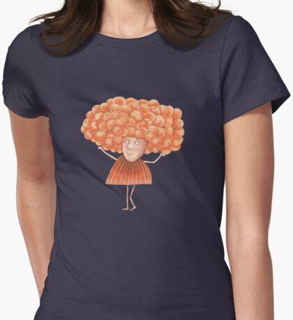 She had Fabulous Orange Hair Womens Fitted T-Shirt
