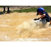 Stealing Home Photographic Print