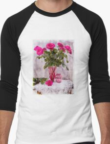 Still Life with Vintage Cranberry Glass T-Shirt