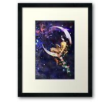Miss Luna... Framed Print