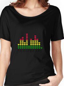 Heartbeats Equalizer Women's Relaxed Fit T-Shirt