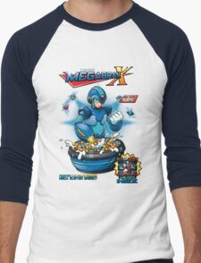 Dr.Light's Megabran X Men's Baseball ¾ T-Shirt