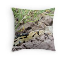 Great Basin Gopher Snake Throw Pillow