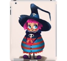 Little Witch girl iPad Case/Skin