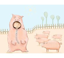 The Pigs Photographic Print