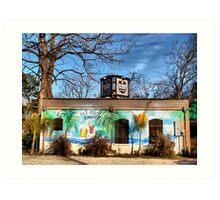 Jailhouse Saloon Art Print