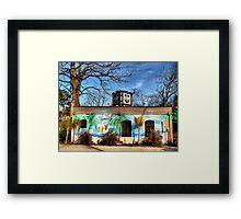 Jailhouse Saloon Framed Print