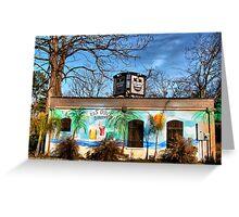 Jailhouse Saloon Greeting Card