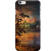 Magic of Japanese gardens. iPhone Case/Skin