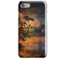 Magic of Japanese gardens. iPhone Case/Skin