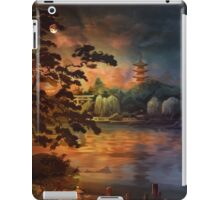Magic of Japanese gardens. iPad Case/Skin
